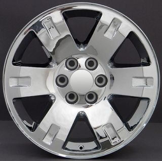 20 Chrome Yukon Wheels 20 x 8 5 Rims Fit GMC Chevrolet Cadillac Set