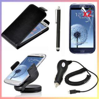 Cargador Coche Stylus Protector Para Samsung Galaxy S3 I9300