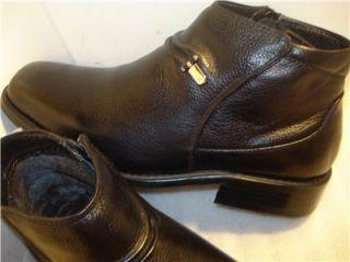la milano men s boots black fur lining