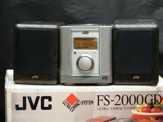 FS 2000 Receiver Compact Stereo CD Player Includes Speakers and Remote
