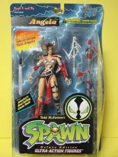 Spawn Angela Todd McFarlane Female Action Figure Toy See Desc 10113