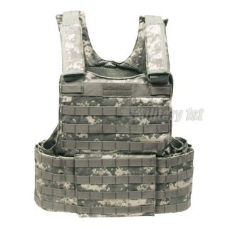 ARMY VEST MOLLE II MODULAR MILITARY AIRSOFT COMBAT US ACU DIGITAL CAMO