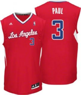 Angeles Clippers Chris Paul Red Road Replica Rev30 Adidas Jersey sz XL