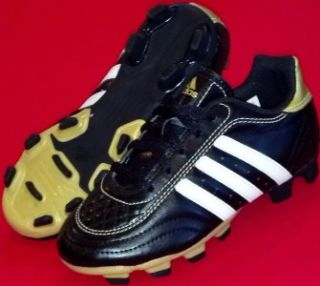 Youths ADIDAS GOLETTO III Black Football Soccer Cleats Shoes 5.5/38