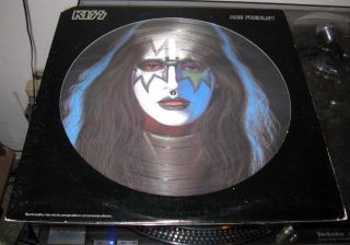 KISS Ace Frehley SUPER RARE Picture Disc 1978 With Original Cover