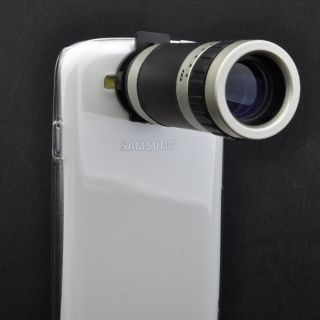 New 8x Zoom Telescope Camera Lens Case Cover for Samsung Galaxy S3 s