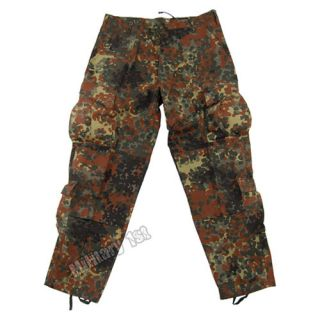 ACU RIPSTOP ARMY COMBAT MILITARY UNIFORM TROUSERS BW GERMAN FLECKTARN