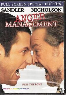 Anger Management Adam Sandler Jack Nicholson PG13 Family Comedy Movie