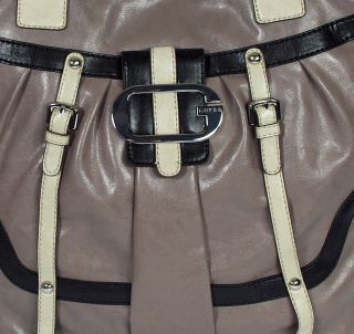 New Guess Adelina Womens Black Tote Satchel Shoulder Bag Handbag