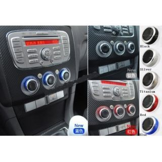 Car Air Conditioner Control Knobs Aluminum Panel Switch Ford Focus 5