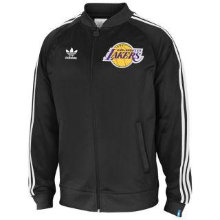 Los Angeles Lakers Adidas Originals Primary Logo XL Track Jacket Black