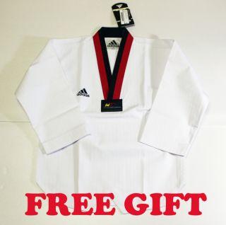 Adidas Taekwondo Poom DOBOK Uniforms Uniform Tae Kwon TKD Addidas