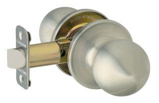 J10VCNA630 Satin Stainless Steel Corona Passage Door Knobs