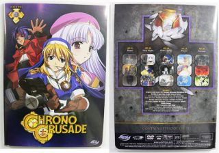 Adv Films Chrono Crusade Thinpack Box Complete Collection DVD 5 Disc