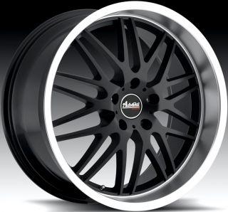 20X8.5 Advanti Racing Kudos 5x120 +40 Matte Black Rim Wheels FITS BMW