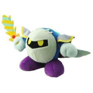 Global Holdings Kirby Adventure Plush Doll 6 Meta Knight