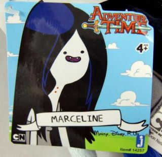 Adventure Time With Finn and Jake Marceline Plush Toy Doll 10 Rare