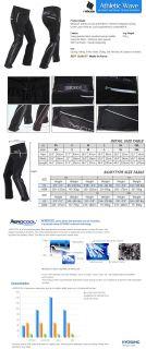 Aerocool Men Women Cycling Bike Cycle Tights Pants XL