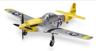 57 RC Airplane P 51 Mustang w E Tracts 2 4GHz 6CH RTF