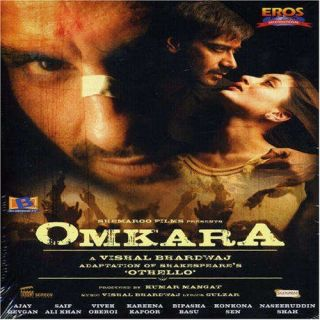 OMKARA DVD Ajay Devgan Vivek Oberoi Saif Ali Khan Kareena Kapoor