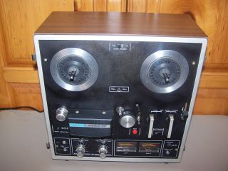 Akai Reel to Reel 1721W Tape Recorder Vintage