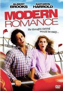 MODERN ROMANCE Alber Brooks, Kahryn Harrold DVD New
