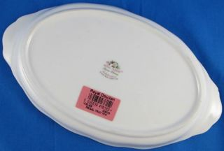 Royal Albert Bone China 10 Celebration Oval Relish Regal Tray or