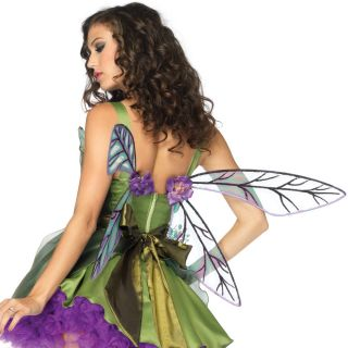 Strapless Woodland Fairy Wings Adult Halloween Costume