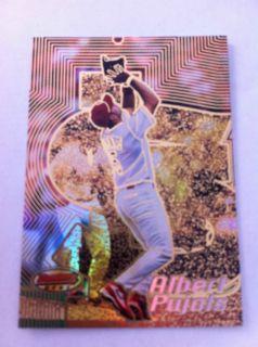 Albert Pujols 2002 Bowmans Best Gold Insert Serial #47/50 St. Louis