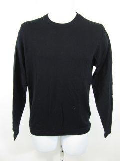 you are bidding on an alan bilzerian black wool crewneck sweater size
