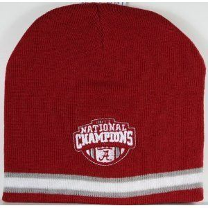 Alabama Crimson Tide NCAA Champions Knit Cap New