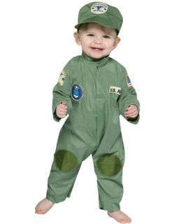 US Air Force Uniform Cute Baby Infant Child Costume