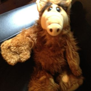 Vintage 1986 ALF Alien Productions Plush 18 Tall Doll