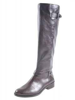 Alfani Mable Tall Riding Boot Womens Brown Boots Sz 8 M