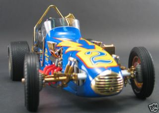 AL UNSER JOHNNY LIGHTNING 1 12 GOLD VINTAGE DIRT CHAMP CAR GMP VERY