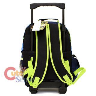 Ben 10 Alien Force School Roller Backpack Rolling Bag L