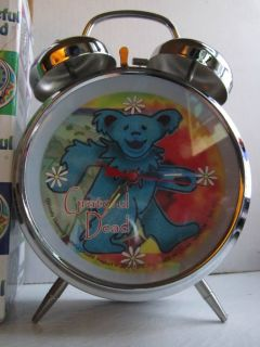 Grateful Dead Bear Alarm Clock Official Used Only Once
