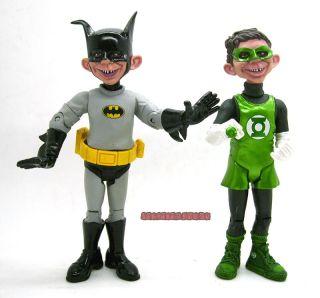 heroes mad alfred e neuman green lantern hal jordan figure