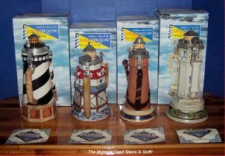 STEIN Set Cape Hataras~Thomas Point~Ponce DeLeon Alcatraz