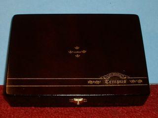 Alec Bradley Tempus Terra Novo Wood Cigar Box Honduras