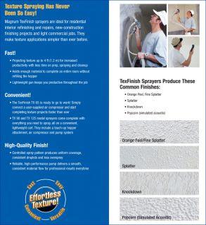 Goldblatt Texture Sprayer Operators Manual