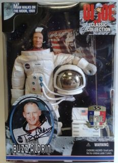 Space Colonel Buzz Aldrin Gi Joe Classic Collection Action Figure DJ