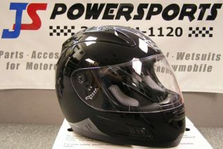 New Vega Altura Helmet Lid Street Bike Motorcycle Full Face Black