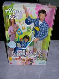 BARBIE, HAPPY FAMILY ALLAN & RYAN