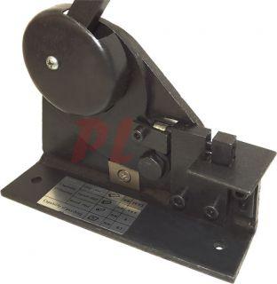 Small Metal Fabrication Shear Ornamental Punch Rivet Bender Roll Curve