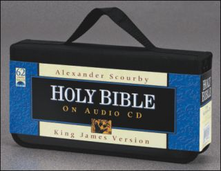 The Holy Bible Complete KJV on CD Alexander Scourby King James Version