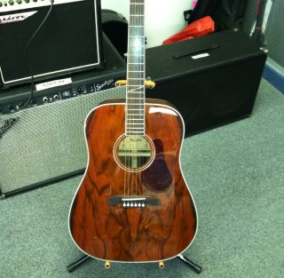 Alvarez AD60K Acoustic Guitar With Hard Case