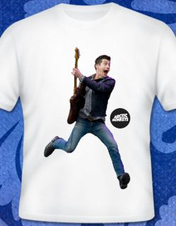 Arctic Monkeys T Shirt Jumping Alex Turner XS s M L Suck It and See