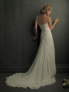 Allure Bridal Gown Style 8702 Color White Size 8