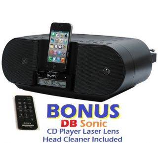 iPhone Docking Station CD Player Digital AM FM Radio Stereo System